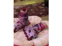 Bang on the Door Groovy Chick Inline Skates size 12-13