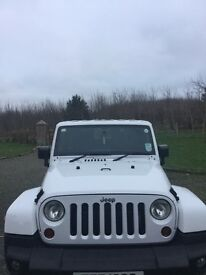 2011 Jeep Wrangler Sahara 2.8 crd full service history from Jeep Belfast all stamps can be inspected