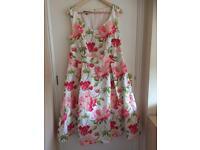 Laura Ashley floral dress size 16