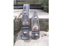 Stanley no.6 Stanley no 4 1/2 hand planes both with 60mm blades