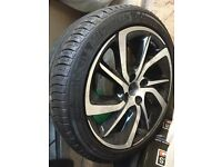 Brand new Citroen ds 3 alloys
