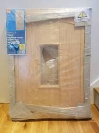 Oak veneer exterior door NEW