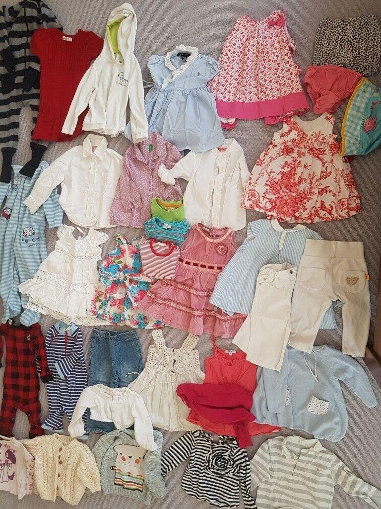 51126021b8a2 bundle of gorgeous girls clothes (12-18months) inc designer labels