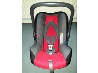 Baby Car Sear Carrier by Britax (red)