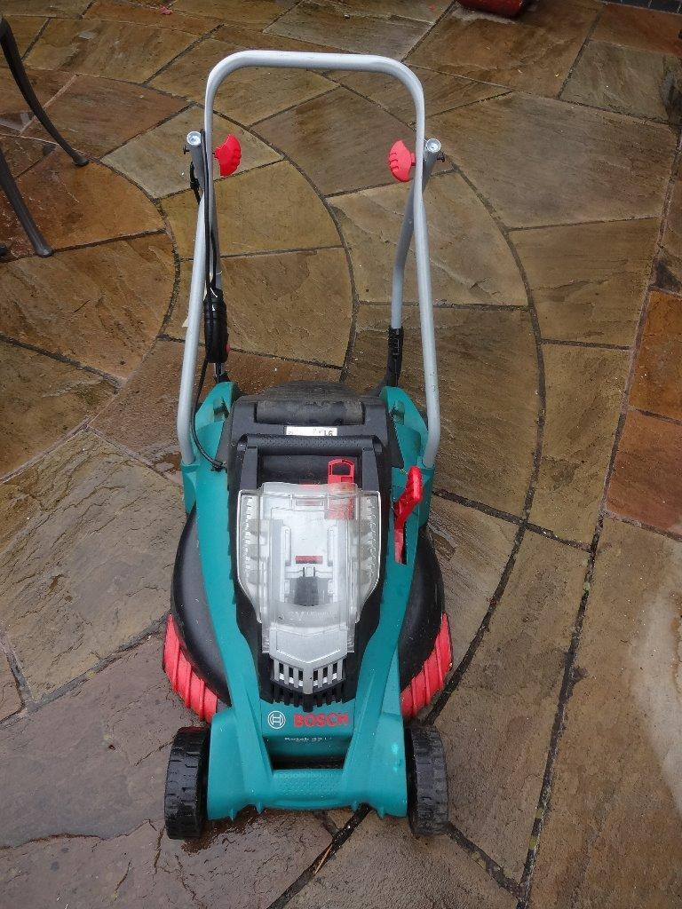 bosch rotak 43 li cordless lawnmower for spares only in leicester leicestershire gumtree. Black Bedroom Furniture Sets. Home Design Ideas