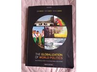 The globalization of world politics – an introduction to international relations
