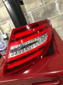 Mercedes c class rear light