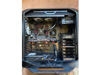 Gaming PC i7, Corsair Case & Water Cooling, 16GB RAM, Nvidia GTX970