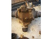 BMW E46 330 diesel automatic diff