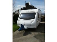 2010 Sprite Alpine 2 berth Caravan, Large End Washroom, Diamond Pack Extras, Motor Mover, Awning etc