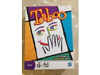 NEW - TABOO board game / family party game