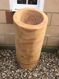 Rainbow sandstone planters and bird baths