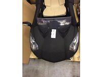Light Used Matt Black 12V Twin Motor Lamborghini Style Kid on Car with Parental Control