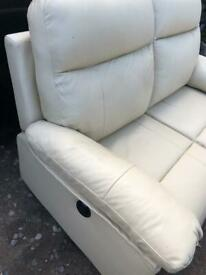2 seater and matching armchair