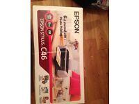 Epson Stylus C46 printer never used, still boxed