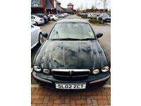 Jaguar X-Type LPG converted