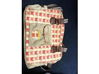 Yummy mummy baby bag with changing mat