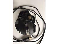 Mad Catz R.A.T. 7 RAT Gaming Mouse 6400 dpi Laser Sensor Black