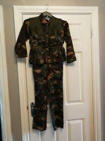 Action man dress up suit + utility vest