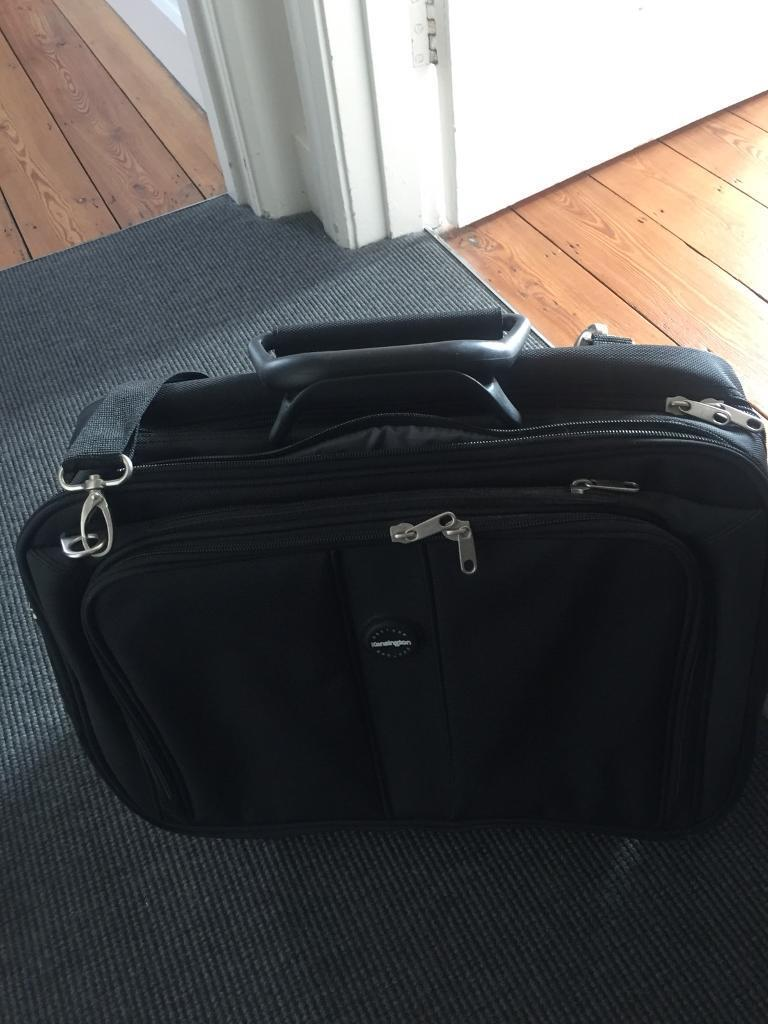 Laptop wheelie bag