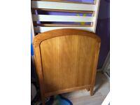 Cot bed frame