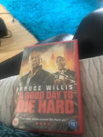Bruce Willis a good day to die hard £2.00 each