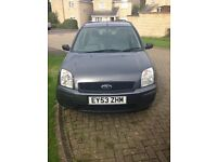 cheap car - ford fusion, 1.4, 2 owners, new MOT, new battery, new tyres, new wipers, Bargain