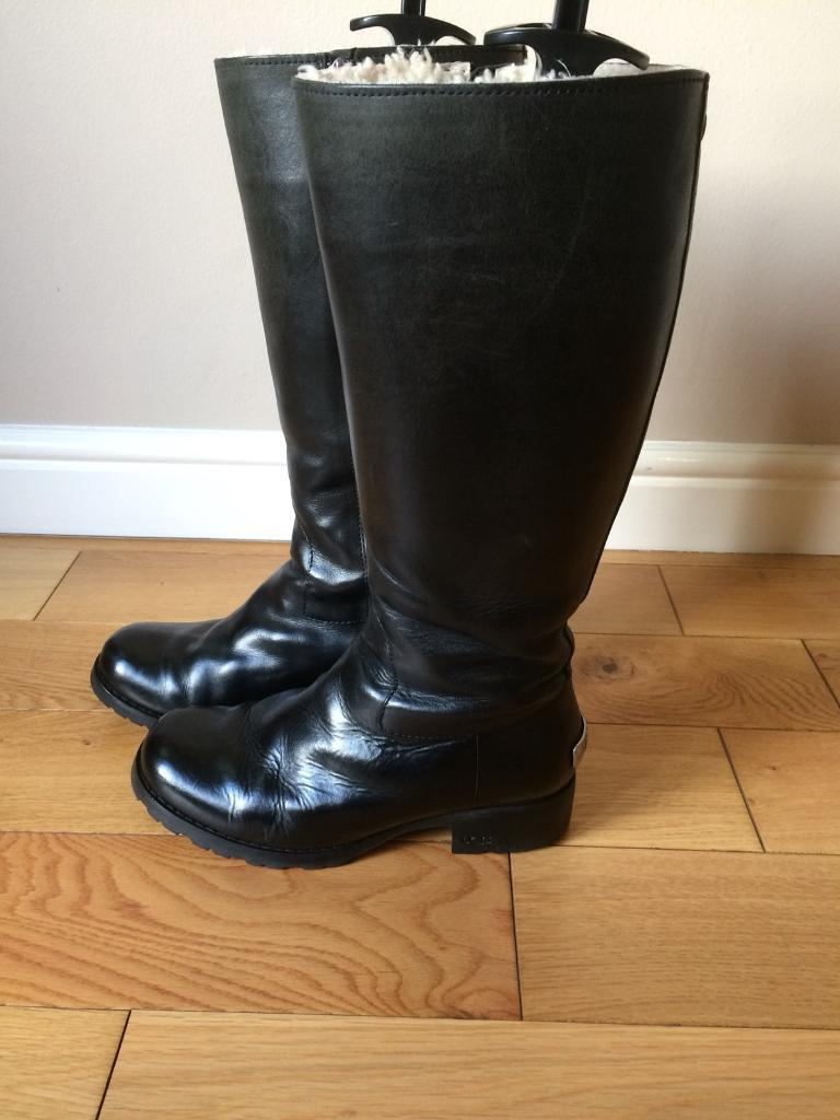 "7dd23fdf928 UGG Black ""Broome"" Boots Size 5.5 | in Kings Lynn, Norfolk | Gumtree"