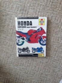 Honda blackbird cbr1100xx Haynes manual