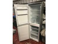 Grey/silver Hotpoint fridge freezer
