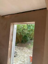 Plastering and rendering from £80
