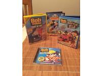 Bob the Builder dvds and CD