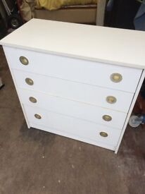 white chest of drawers vgc possible manchester delivery