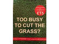 GRASS CUTTING FROM £15
