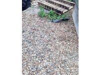 small stones/gravel