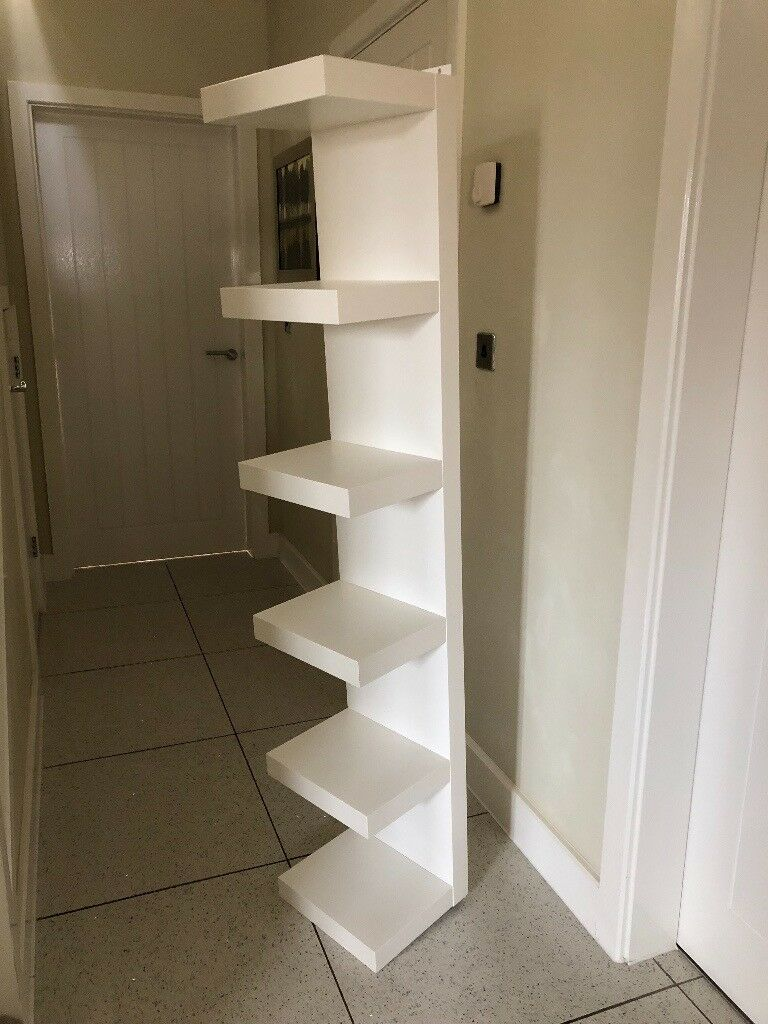 Ikea Lack Wall Shelf Unit 30 x 160 cm White (can be wall ...