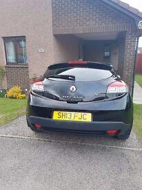1.5Ltr Renault Megane Coupe Black