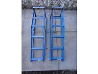 Pair of car ramps excellent condition