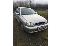 Daewoo silver 1.6 sold as parts