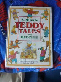 2x kids bedtime story books.