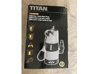 Titan Clean and Dirty water pump