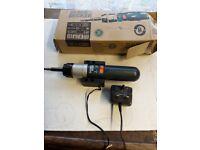 BlacK and Decker 3.6V rechargable screwdriver