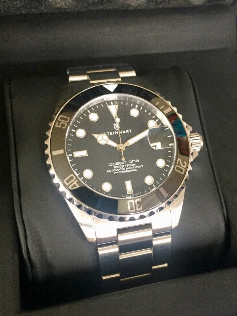 Steinhart ocean 39mm swiss made dive watch boxed with - Oceanic dive watch ...