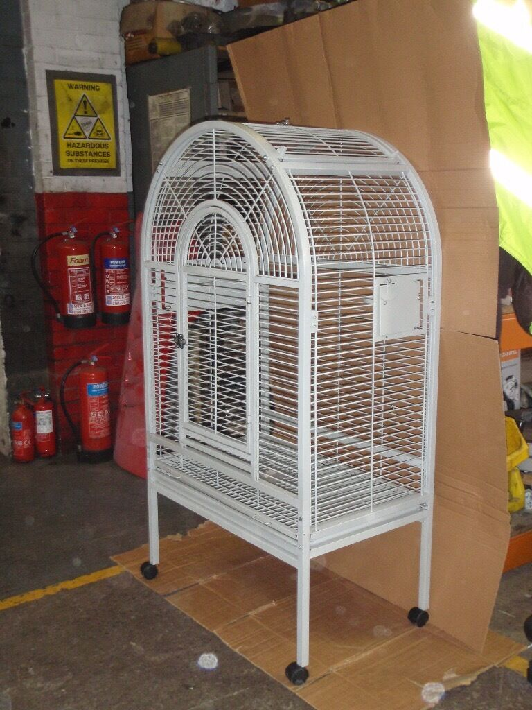 Parrot cage ideal for African Grey