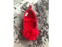 Baby red shoes designer