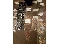 JOB LOT Wholesale Necklaces x 18 & Display Bust. All Brand New