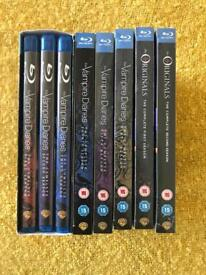 The Vampire Diaries / The Originals blurays