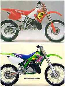 Wanted! 125,250,500 KX CR RM YZ SX. Upper Coomera Gold Coast North Preview