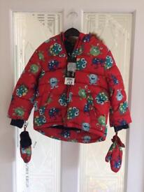 New boys coat 1.5-2years