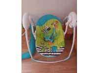 Electric baby swing chair